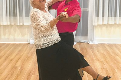 Dancer proves it's never too late to learn something new