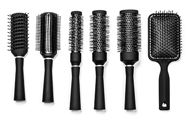 Good hair day starts with choosing the right brush