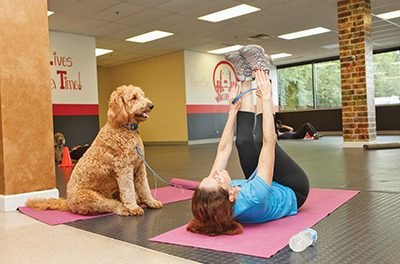 Benefits of working out with your four-legged best friend