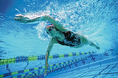 Hip, hip, hooray for efficiency in all swim strokes