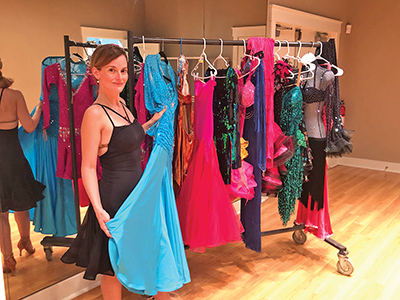 Hair, makeup, costumes critical to ballroom dance style