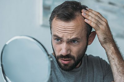Some types of hair loss in men and women can be treated