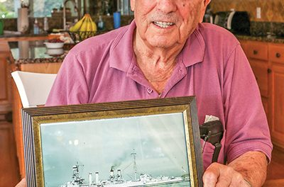 WWII veteran who was 'there' recalls last days of conflict