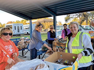 Food program for commuting workers celebrates anniversary