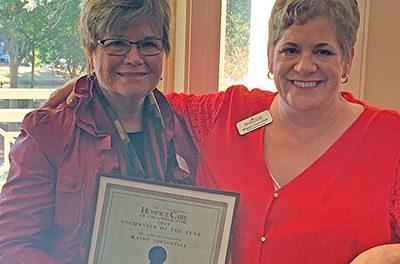Hospice agency honors volunteers