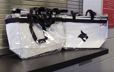 School district implements bag policy for sporting events