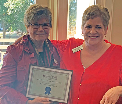 Hospice agency honors volunteers