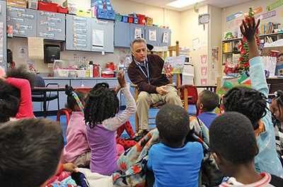New superintendent sees school district's work as 'journey'