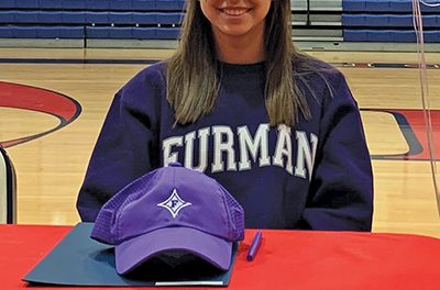 Outstanding female golfer signs with Furman in Greenville