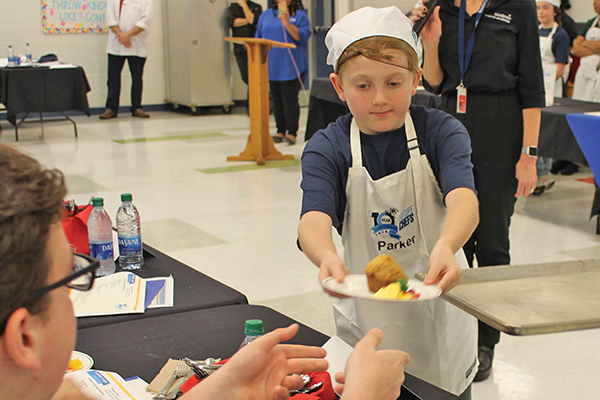 School lunch competition gets local foodies started young