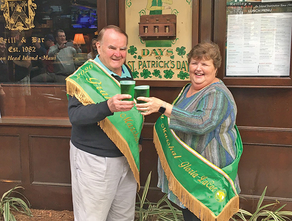 St. Patrick's Day Parade grand marshals no strangers to giving