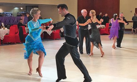 Pro-am dance competition allows all to strut their stuff
