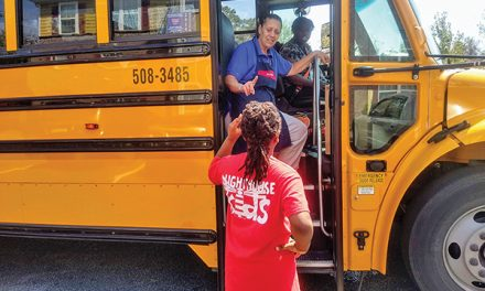 Schools have closed, but students' meals, learning continue