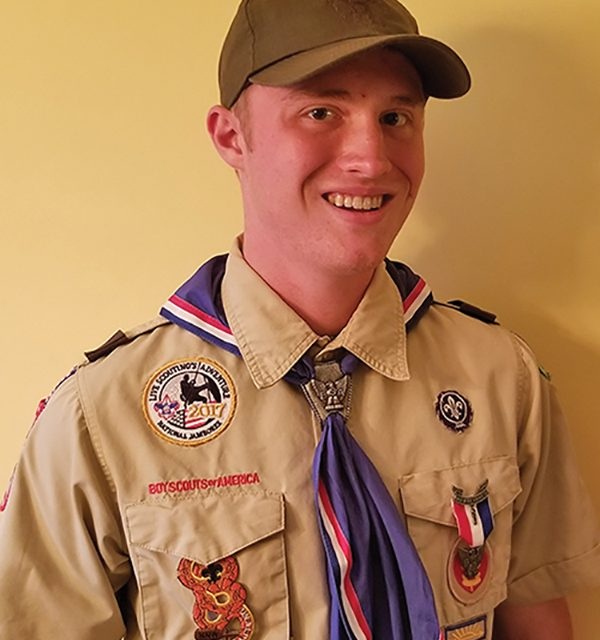 Bluffton resident named  top Eagle Scout in state