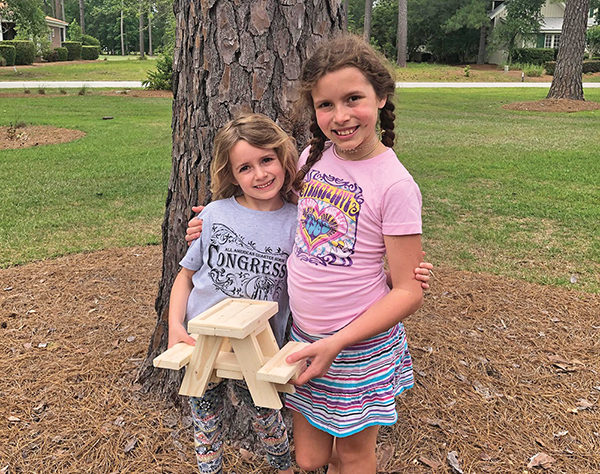 Family time well-spent on project to help animals