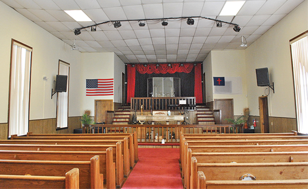 Campbell Chapel begins restoration project with A-Tax grant