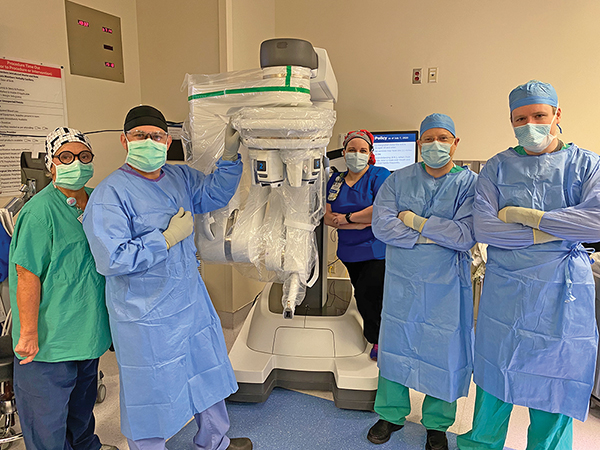 Memorial Health acquires new robotic surgery system