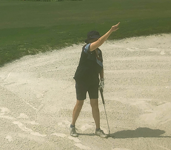 It's OK to relax, have fun and play golf by casual 'rules'