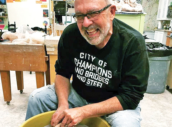Holsinger left mark on thousands of clay pots – and students