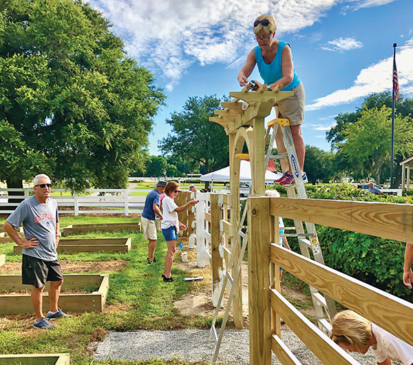 Oldfield volunteers transform community far and wide