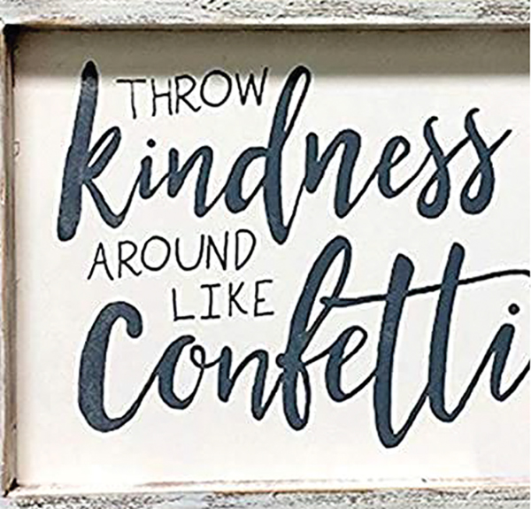 Reach out, acknowledge caregivers, share kindness