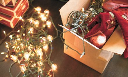 Be smart, safe about post-holiday clean-up and discards