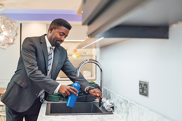 Get tap water tested at faucet to know exactly what's in it