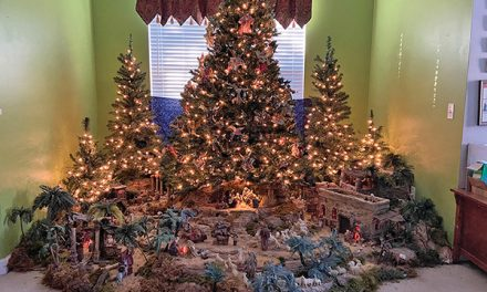 One of artist's last wishes: Find a home for nativity display