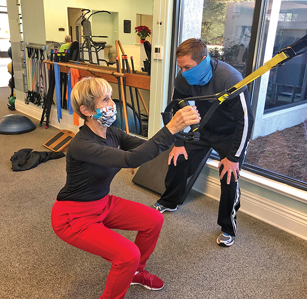 Weather not great? Best time to work on golf fitness is now