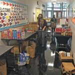 Student-led food drive request results in unexpected bounty