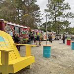 Foodies welcome food truck pavilion in their own Backyard
