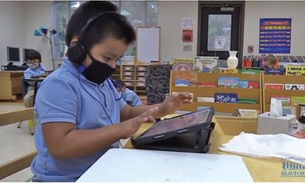 Area's youngest students on technology par with older peers