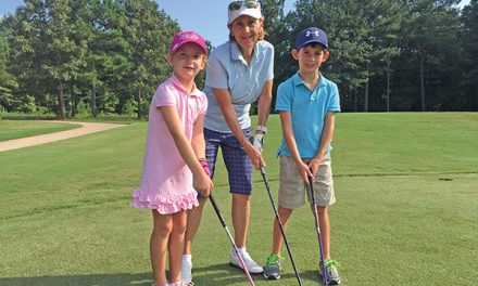 Getting children involved in golf offers many benefits