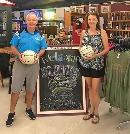 Gaelic Football fever catching on with fans in Bluffton