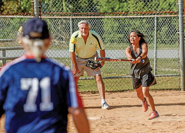 Founders hit home run with new senior softball league