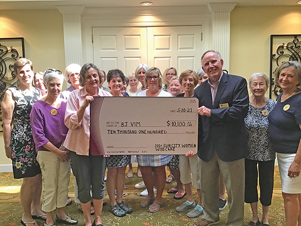 Sun City group's milestone donation is a boon to BJVIM