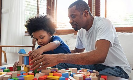 Rethink life's priorities by spending time with a child