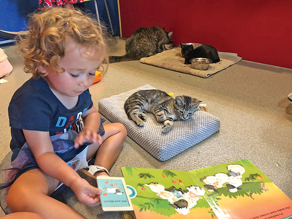 Library, adoption program brings reading to the rescue