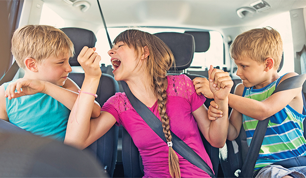 Kids can help adult drivers avoid distracted driving