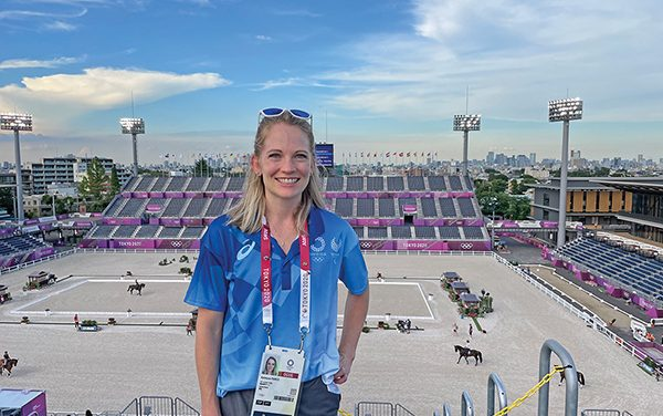 New Bluffton vet comes  with an Olympic pedigree