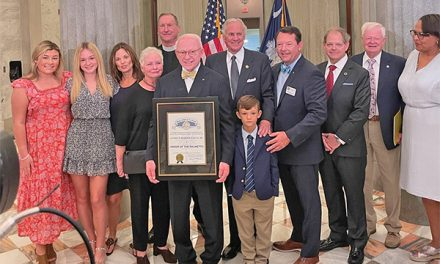 Martin Sauls honored with  Order of the Palmetto distinction
